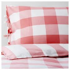 emmie ruta duvet cover and pillowcase s pink white thread count