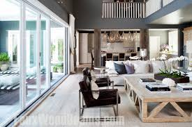 Modern Living Room Table Sets Decor Great Room Ideas With Sliding Glass Door For Modern Living