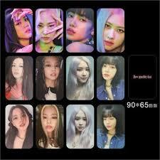 Scans blackpink jisoo jennie rosé lisa. Kpop Blackpink How You Like That Photocard Jennie Lisa Slef Made Autograph Cards Ebay