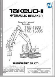takeuchi tkb 1600, 1600s hydraulic Circuit Breaker Parts Diagram Molded Case Circuit Breaker