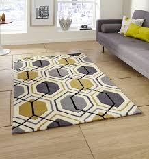 hong kong rugs 7526 grey yellow tap to expand