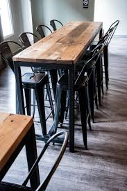 industrial wood furniture.  Industrial Luxury Industrial Reclaimed Wood Furniture U201dzoom  For Pub Table Intended I
