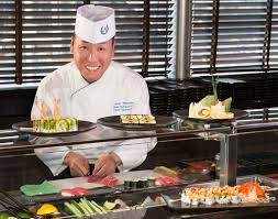Sushi Cook Sushi Master Welcomed To Holland America Lines Culinary Council