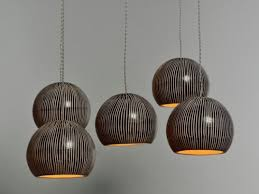 porcelain lighting. set of 5 black translucent porcelain pendant lights lighting