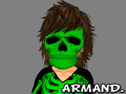 Second Life Marketplace - --ARMAND-- SKELETON BABY - GREEN