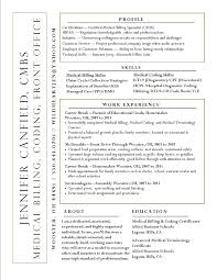 medical insurance resume medical insurance collector resume examples billing and coding