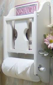 Toilet Paper Holder With Magazine Rack Choose your color Magazine Rack with Toilet Paper tissue Holder 50