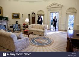 oval office white house. Delighful House PRESIDENT BARACK OBAMA Entering The Oval Office At White House  Wednesday Morning 21 January 2009 For His First Full Day In Office Intended