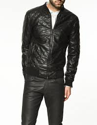 moncler mens quilted jacket zara moncler sale & ... zara united states; men quilted leather jacket cw821001 cwmalls com  gallery Adamdwight.com