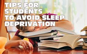 tips for students to avoid sleep deprivation