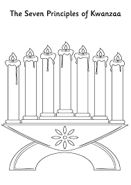 You can download free printable kwanzaa coloring pages at coloringonly.com. Kinara The Seven Principles Of Kwanzaa Coloring Pages Kids Play Color