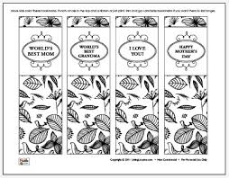 From there, you can choose the shape fill option to fill the inside of your bookmark with a particular color, textures, gradient or you can insert a picture from your saved files. Mother S Day Bookmarks Coloring Sheet Free Printable
