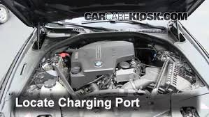 Bmw Refrigerant And Oil Capacity Charts How To Add Refrigerant To A 2010 2017 Bmw 528i Xdrive 2012