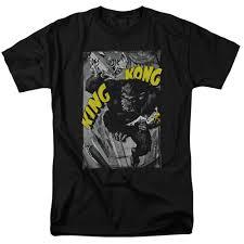 Us 11 6 17 Off King Kong Crushing Poster T Shirt Sizes New Cartoon T Shirt Men Unisex New Fashion Tshirt Free Shipping Top Ajax 2018 Funny In