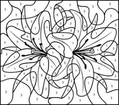 Small Picture Flowers Coloring Pages