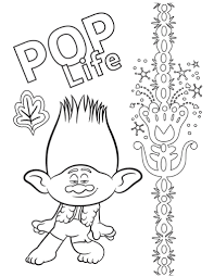 From animals, to sports, to flowers, there is no shortage of coloring pages for kids available at turtle diary. Free Printable Trolls Coloring Pages Activity Sheets Zoom Backgrounds More Crazy Adventures In Parenting