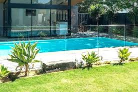glass pool fence cost florida