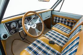 vintage car door handles. 67-72 Chevrolet Truck Custom Interior With Door Handles Vintage Car E