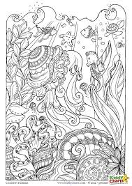 Small Picture Ocean Coloring Pages For Adults Cecilymae