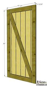 barn door from siding house seven dimensions
