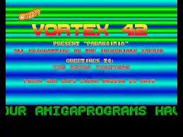 Commodore Amiga Demos Video Snaps Hyperspin Vortex 42 Paranoimia 3rd