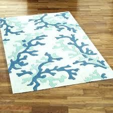 round beach rugs rug for house runners coastal coffee nautical