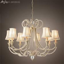 tin lighting fixtures. jw_modern american vintage crystal copper chandelier bedroom kitchen living room fabric lampshade ceiling home lighting fixture tin fixtures