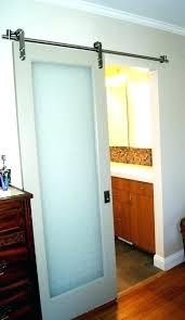 barn door bathroom privacy full size of interior pocket doors with glass panels sliding lock do