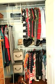 ... Organizing Closet Ideas Pinterest How To Organize A Small Walk In For  Two 25 ...