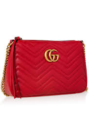 gucci red bag. red gg marmont zip bag gucci red a