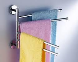 towel bar with towel. Swivel Towel Rack Bar 5094 Quadruple Swing Arm Chrome With Y