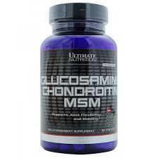 Хондропротектор ultimate nutrition glucosamine chondroitin msm 90 таб Без вкуса 381051