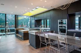 contemporary kitchen lighting ideas. sleek contemporary kitchen design with a skylight kearns mcginnis and vandenberg lighting ideas s