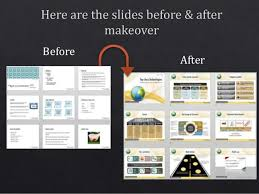 Examples Of Professional Powerpoint Presentations Powerpoint Corporate Presentation Design Makeover Example