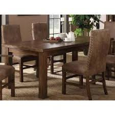 brown dining table chambers creek