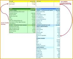 Monthly Income Statement Format In Excel Template Example Xls ...