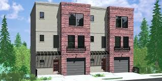 d modern town house plans duplex sloping lot rear view perth d modern town house plans duplex sloping lot rear view perth