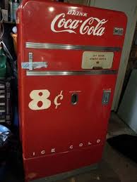 Ebay Snack Vending Machine Delectable 48 Coca Cola Vending Machine Vendo V48 Vintage Unrestored