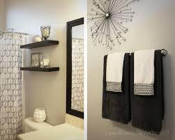 Lovely Idea Bathroom Towel Designs  Different Ways To Hang - Bathroom towel design