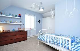 floating shelves with lights kids contemporary light blue boy 39 s bedroom boys bedroom lighting