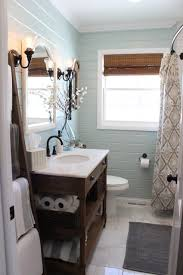 small bathroom chic expand your space with a curved shower curtain rod from bathroom bliss