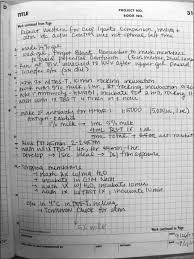 Lab Notebook Example Tips On Maintaining An Effective Lab Notebook For Bench Research
