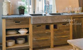 Stone Floors In Kitchen Old World Kitchen Basalt Sinks By Ancient Surfaces Old Stone