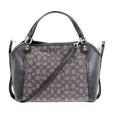 Coach Signature Edie 28 Ladies Medium Multi Shoulder Bag 57934