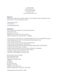 Inventory Clerk Sample Resume Mitocadorcoreano Com