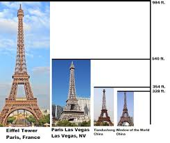 eiffel tower size best eiffel tower replicas in the world invisible themepark