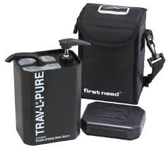portable water purifier. First Need Trav-L-Pure Portable Water Purifier Portable Water Purifier