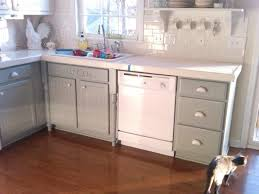 Contemporary Painting Oak Kitchen Cabinets White Throughout Design Inspiration