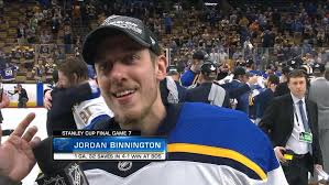 Binnington Proves Doubters Wrong Wins Stanley Cup With Blues