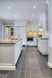 modern kitchen floors. Modern Kitchen With Grey Floor Tiles Floors Z